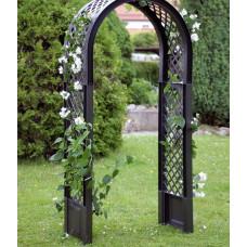 Садовая арка с штырями для установки. Антрацит