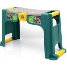 Подставка с органайзером (зелено-желтая)