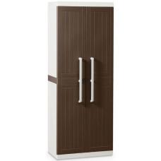 Уличный шкаф TOOMAX WOOD LINE S 256 (3 полки, 2х дверный, узкий, коричневый)