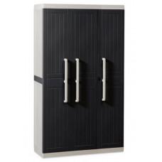 Уличный шкаф TOOMAX WOOD LINE S 257 (3х дверный, узкий, антрацит)