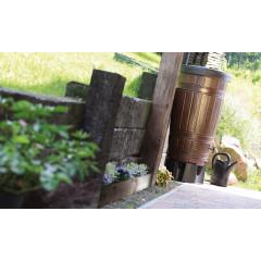 Комплект Водосборник Woodcan 265 л. Коричневый