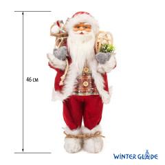 Фигурка Дед Мороз 46 см (красный) (6)