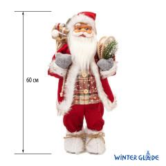 Фигурка Дед Мороз 60 см (красный) (2)