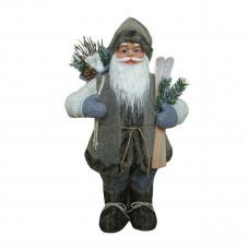 Фигурка Дед Мороз 60 см (серый) (2)