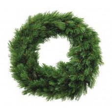 Тримф декор круг Лесная красавица диаметром 45 см. Зеленая