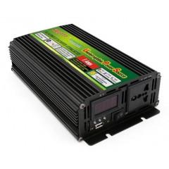 Инвертор автомобильный 800W LEDO Premium (с зарядным устройством)