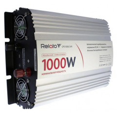 Инвертор автомобильный Relato CPS1000/24V (Чистый синус. С зарядным устройством)