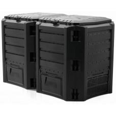 Компостер Prosperplast Module Compogreen IKSM800C 800 л. Черный