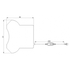 Грелка электротерапевтическая S40