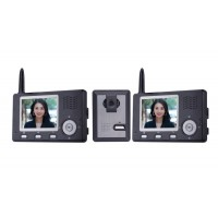Комплект беспроводного цветного видеодомофона с функцией записи 2